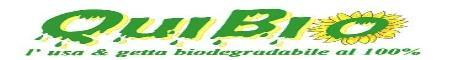 www.quibio.it - la BIOPLASTICA che rispetta l'ambiente - Il primo e-commerce di prodotti usa e getta Bio eco-compatibili come piatti, bicchieri ecc... rigorosamente biodegradabili e compostabili al 100%.